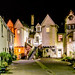 White Horse Close at Night