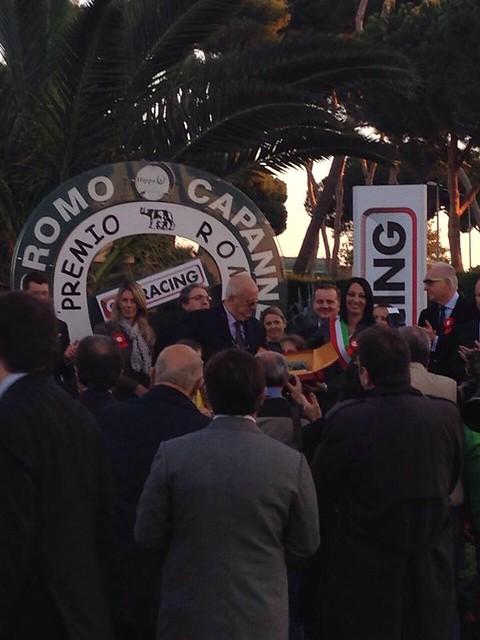 Premiazione Premio Ippico Roma Racing 3