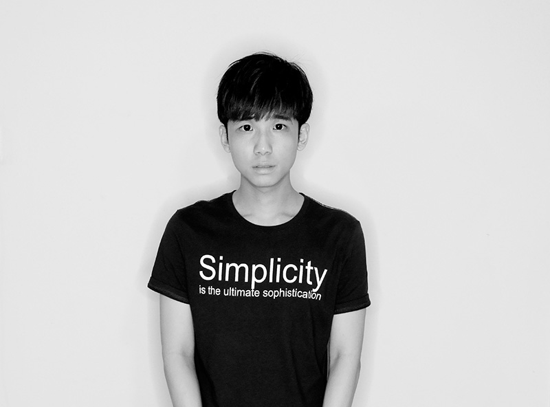 typicalben simplicity black and white