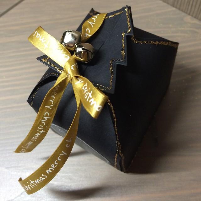 Christmas crafting - Xcut christmas tree box die