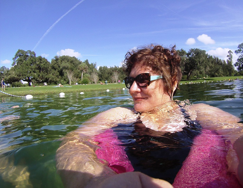 I Felt So Relaxed During My Jan. 3, 2015, Visit to Warm Mineral Springs.