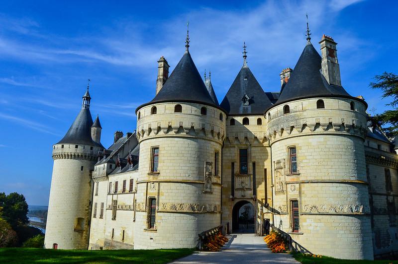 Château de Chaumont Entrance