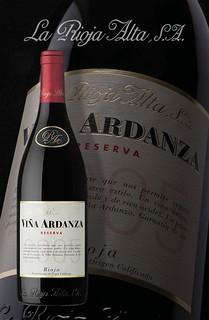 Viña Ardanza 2005.