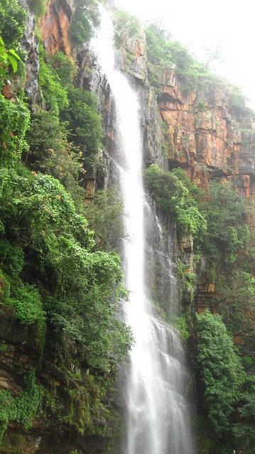 Waterfalls at Jwala Narsimha