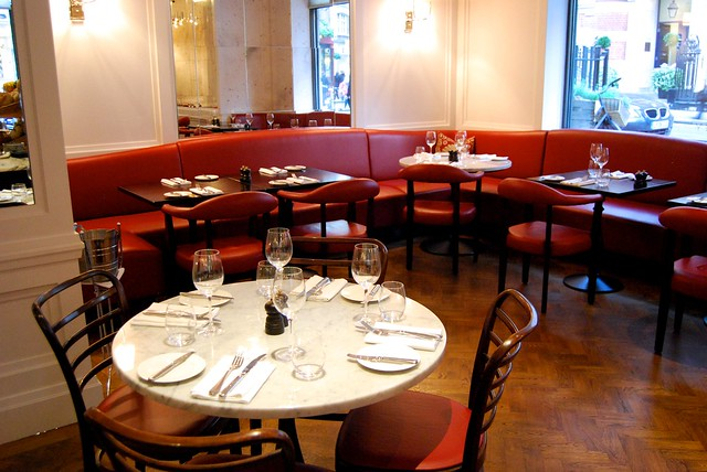 108 Brasserie Dining Room, Marylebone