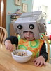 Robots eat oatmeal, too.