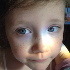 She still has all the #freckles and some awesome #eyes