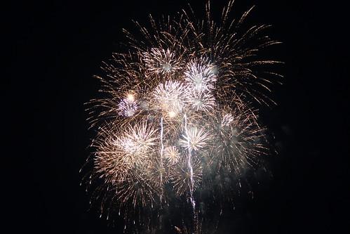 Kumagaya Fireworks_3 熊谷花火大会の写真。 美しい花火。
