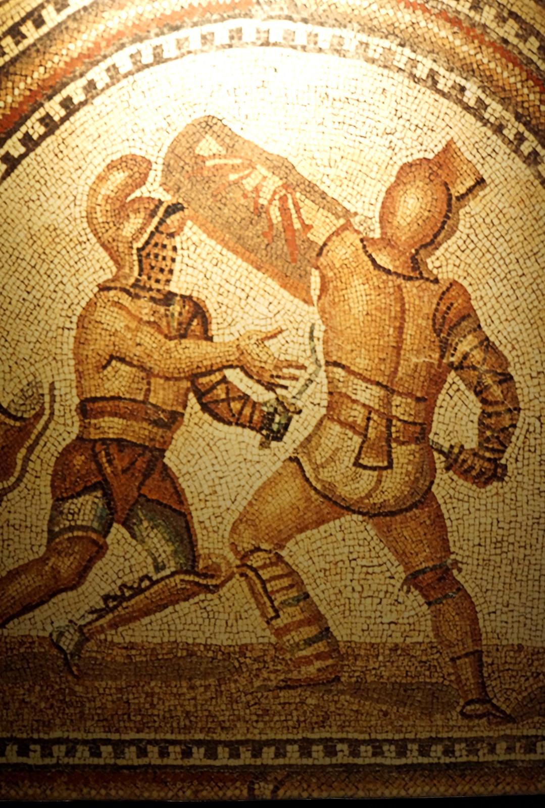 France-002334 -  Gladiator Mosaic