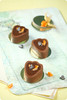 Chocolate, Orange and Hazelnut Mousse Cakes