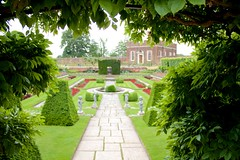 Secret Garden, Hampton Court Palace, UK, KW