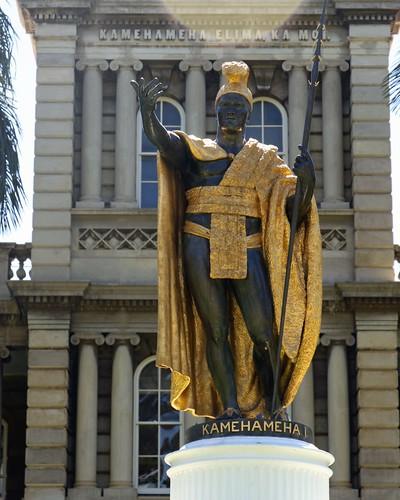 King Kamehameha 1 Statue