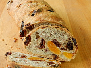 Swedish Apricot Walnut Bread