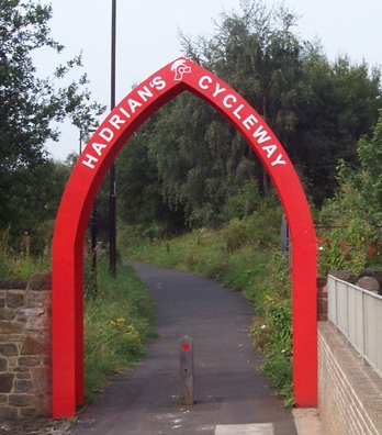 Hadrians cycle route