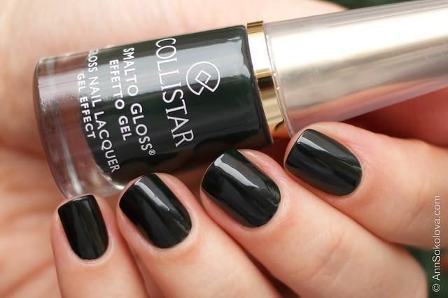 04 Collistar Gloss Nail Lacquer #588 Verde Paola