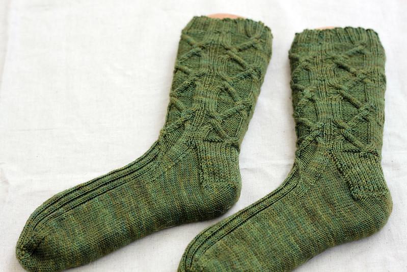 Solid Socks Mystery KAL