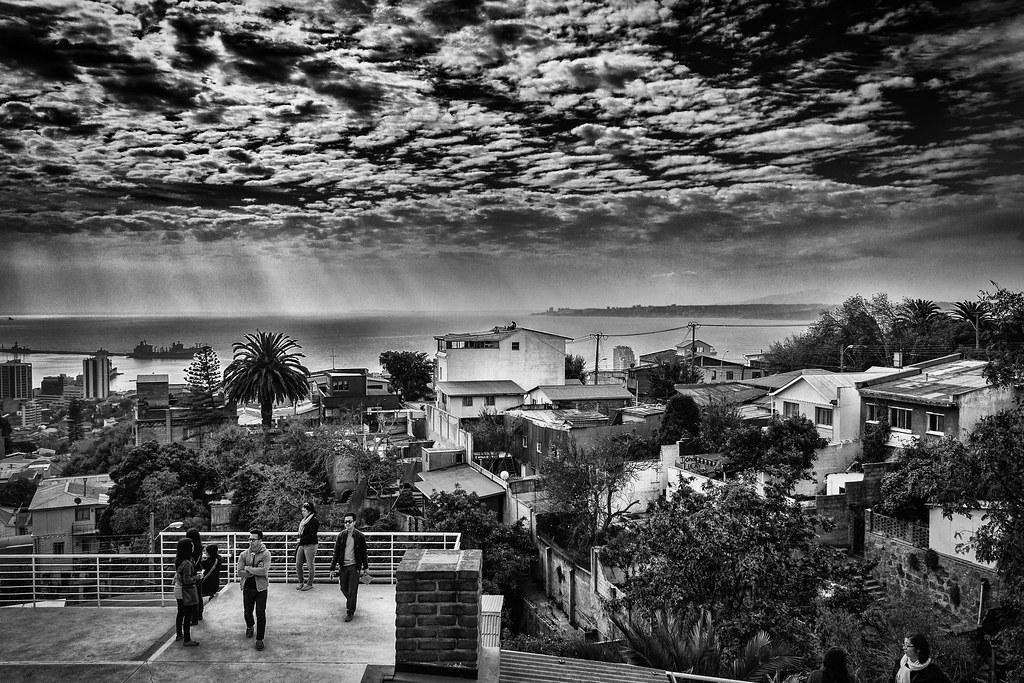 Valparaíso, desde La Sebastiana (casa de Pablo Neruda)