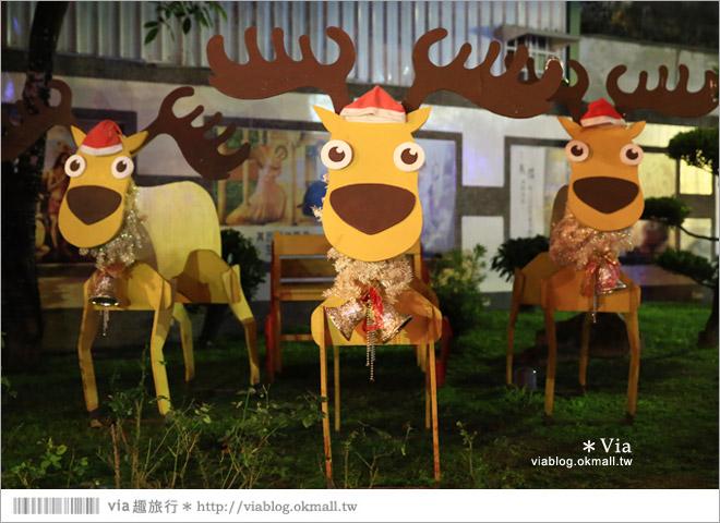 【萬金教堂】屏東萬金教堂聖誕季~3D光雕秀+耶誕地景藝術/全台最濃耶味小鎮!61
