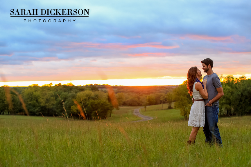 Topeka farm engagement session