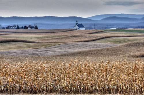 church andy rural landscape corn pennsylvania andrew fields tone aga hdri mapped photomatix highdynamicrangeimage aliferis diehlschurchofthebrethren