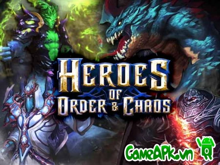 Heroes of Order & Chaos v3.0.0i hack full tiền cho Android