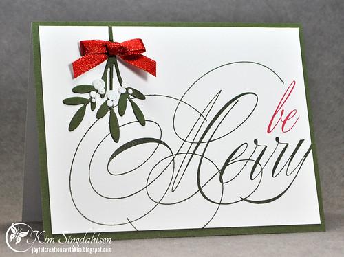 Be Merry with Mistletoe