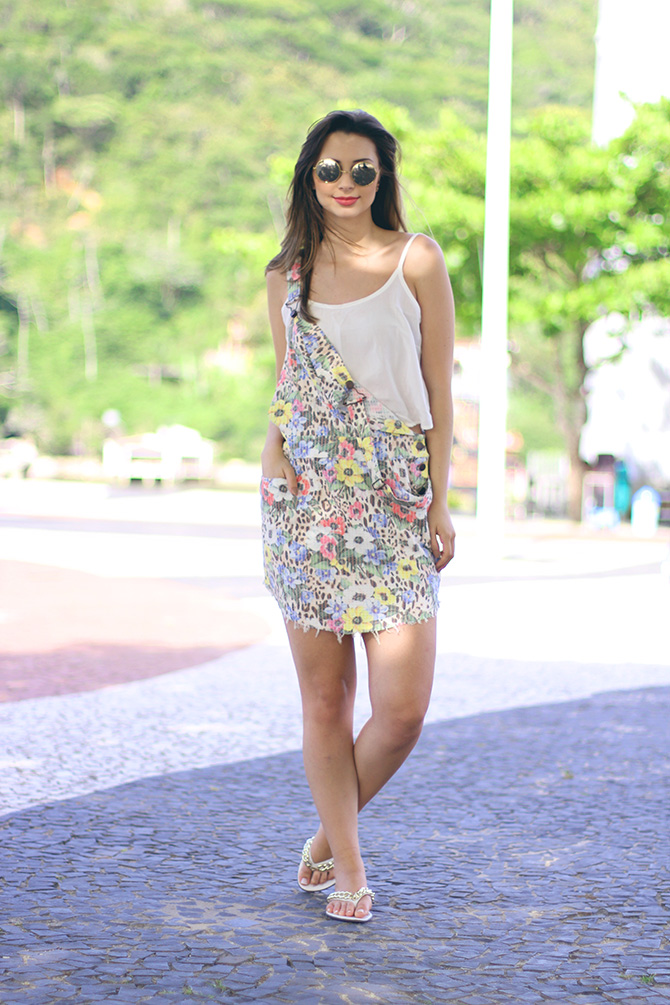 02-look do dia com jardineira estampada blog sempre glamour