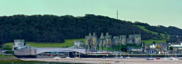 Conwy...and its Castle, Harbour and Bridges.