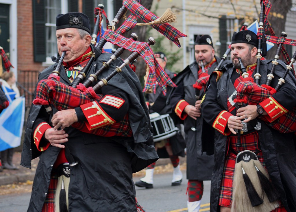Scottish Parade Pipers