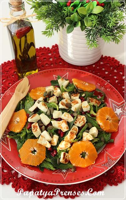 ıspanak salatası 009