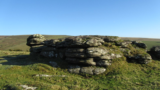 Main outcrop at Blackator Challacombe