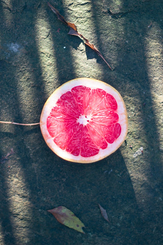 {grapefruit winter mask} via chevrons & éclairs