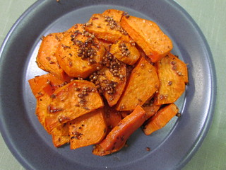 Roasted Sweet Potatoes with Moroccan Spices