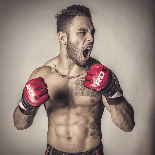 Brad Tavares, UFC fighter, Las Vegas, December 11, 2014