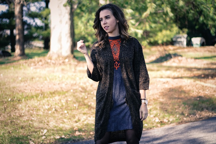 free people dress. diane von furstenberg booties. winter outfit. oversized sweater. thanksgiving outfit. cold weather. dc style.  va darling. 4
