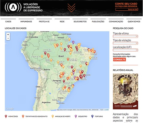 Advocacy groups in mexico and brazil map attacks on journalists to article 19 brazil gumiabroncs Image collections