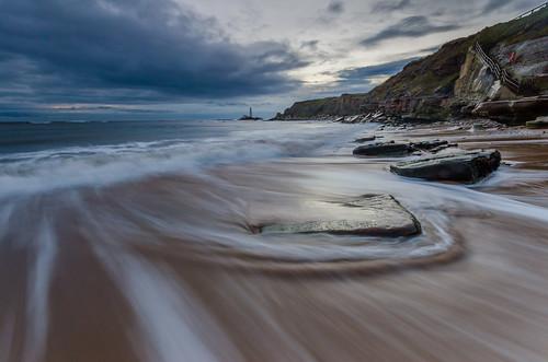old sea beach clouds sunrise nikon rocks north sigma lee nd 1020mm filters hartley graduated d7000 printed6x4