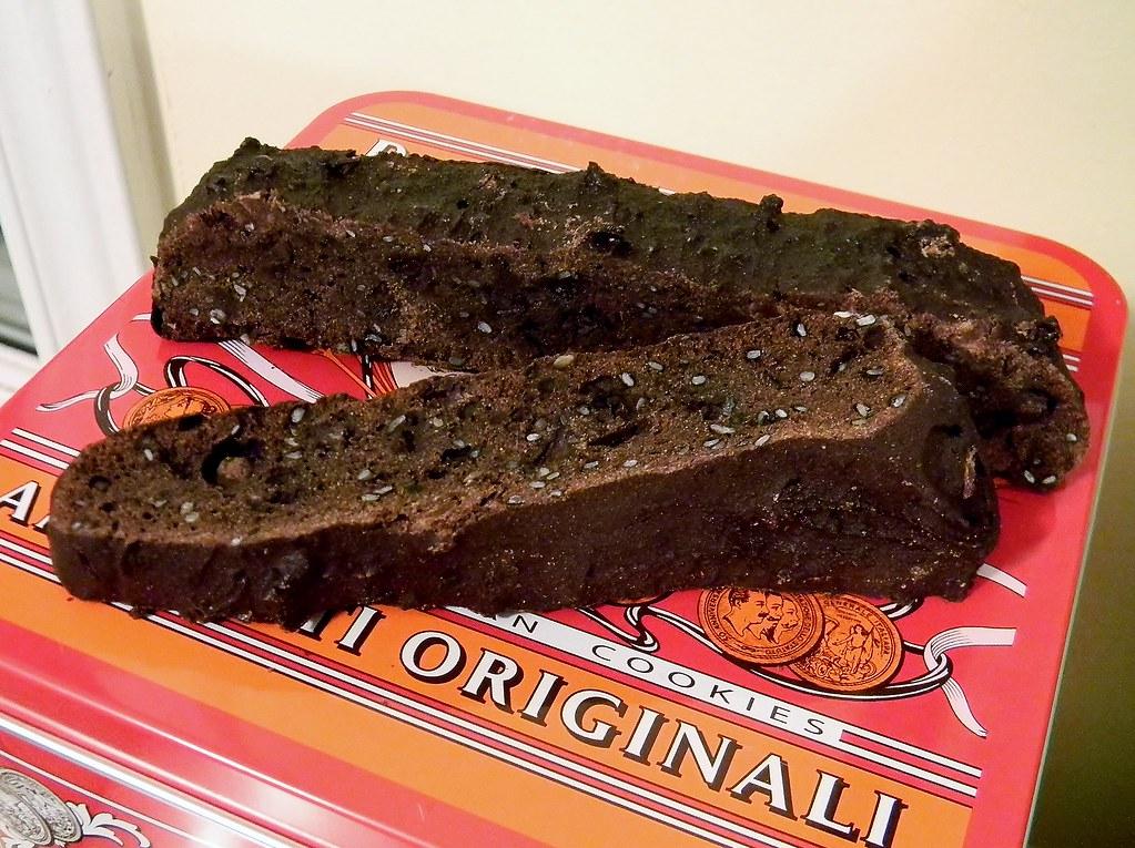 Gluten Free Double Chocolate Biscotti
