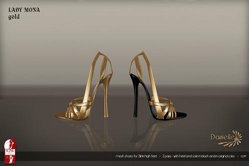 DANIELLE Lady Mona Gold