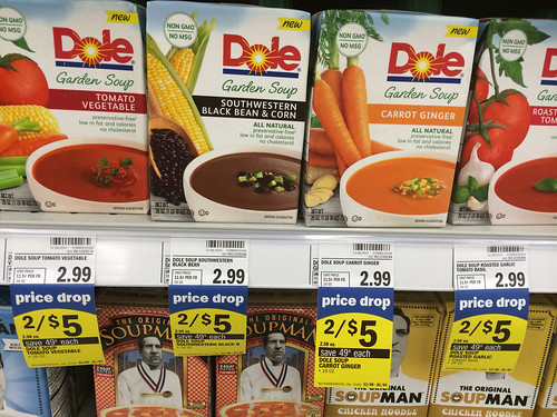 Dole garden soup at meijer with printable coupon for Gardening naturally coupon