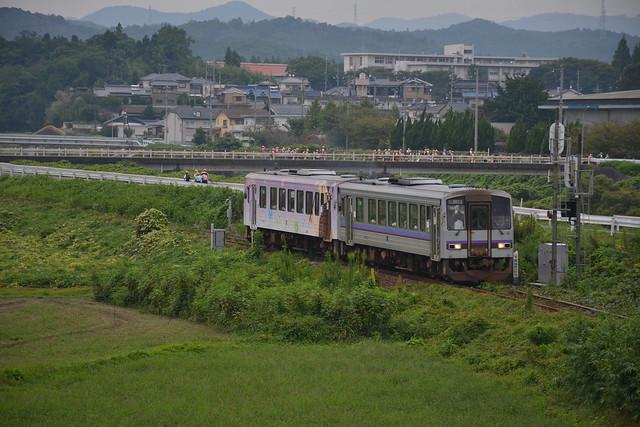キハ120 21+10(美祢線722D)