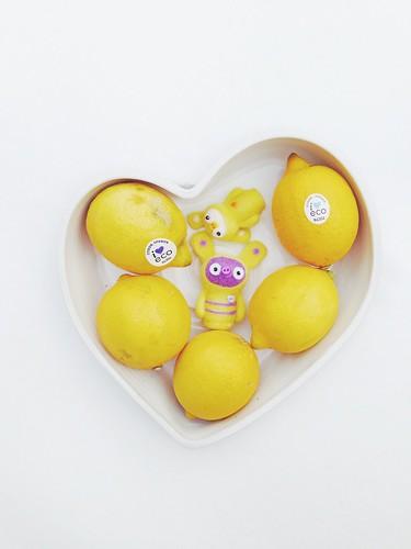 the organic lemon heart