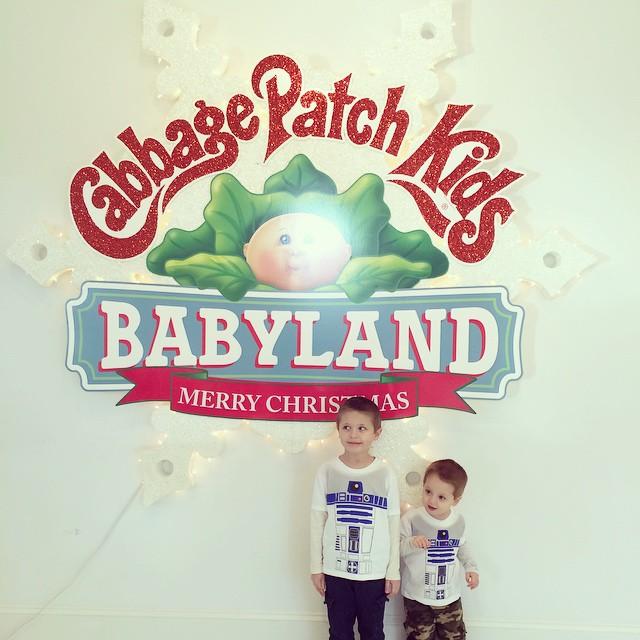 #kids #cabbagepatch #babyland