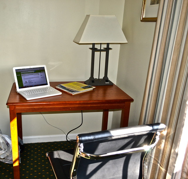 Maison Dupuy Hotel - my work space