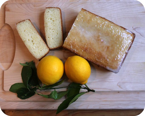 Sweet Meyer Lemon Bread