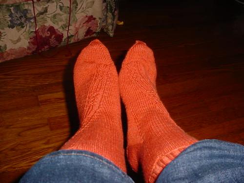 alpine glow socks