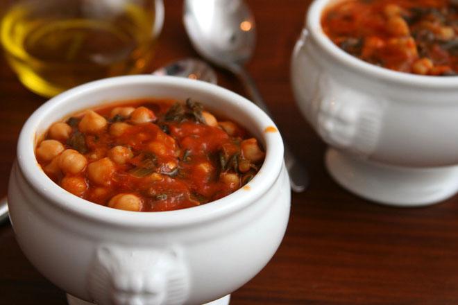 chickpea spinach stew 1