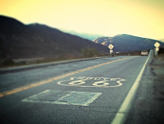 roadtrip route 66 - FlickrChallengeWinner !