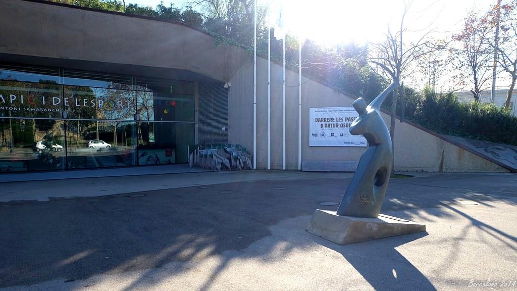 Barcelona day_3, Olympic and Sports Museum Joan Antoni Samaranch, Avinguda l Estadi