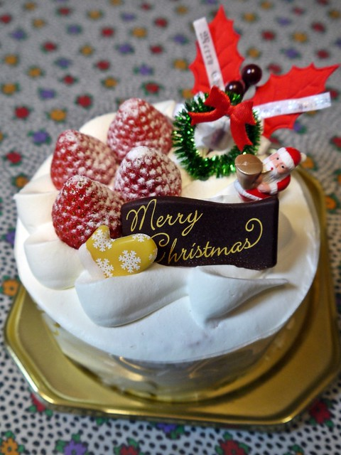 Japan Xmas Cake